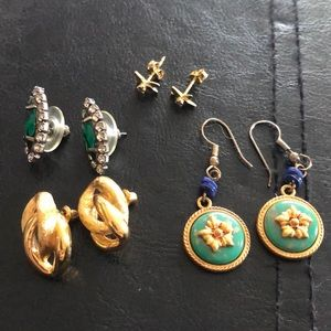 Four Pairs of Earrings